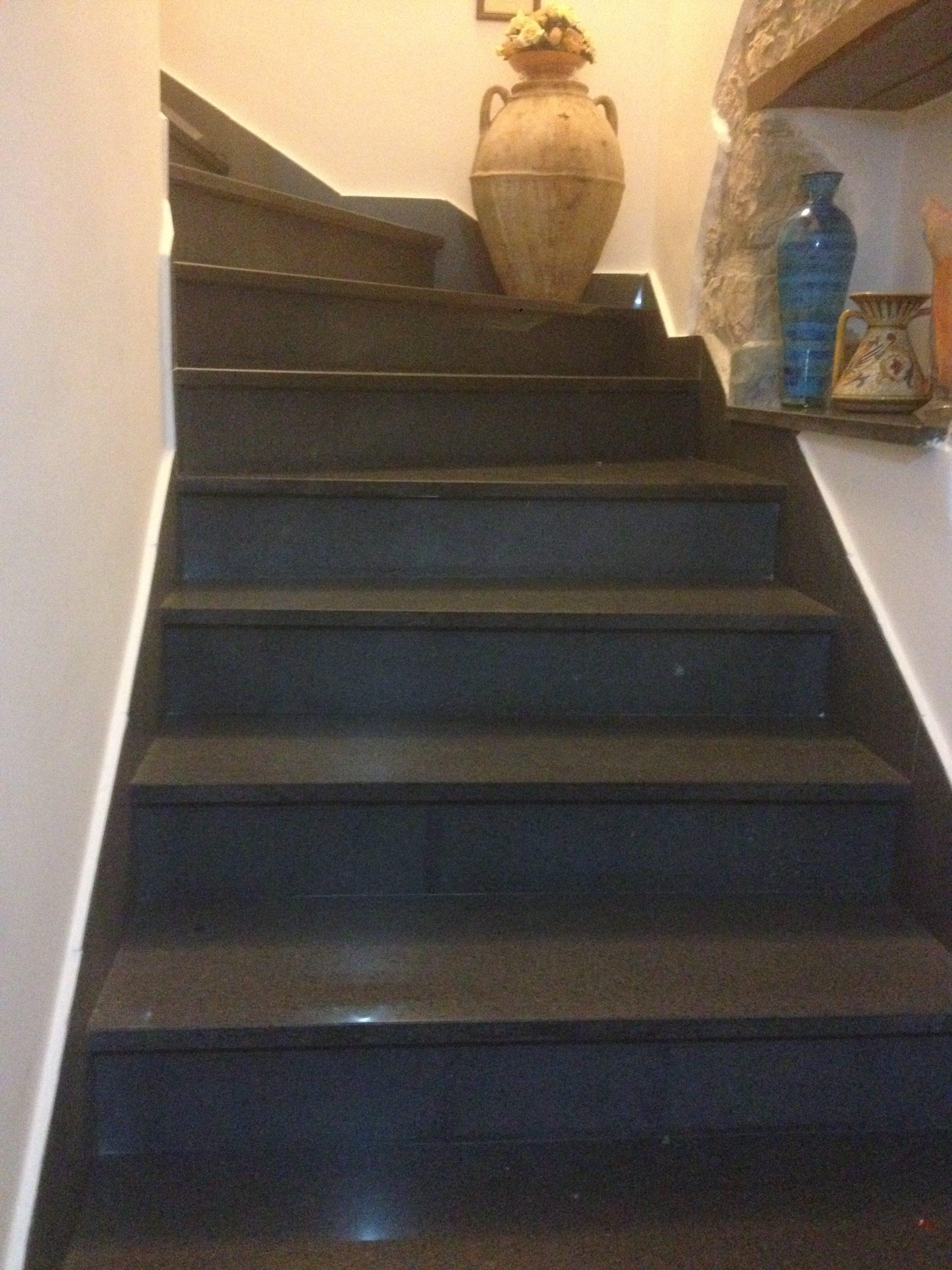 Scala In Marmo Nero gruppo ferraro » scale